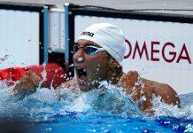 Le nageur tunisien Ahmed Hafnaoui décroche l'or aux JO de Tokyo - VIDEO