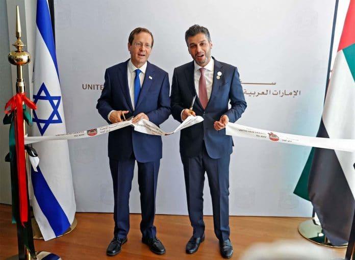 Les Émirats arabes unis inaugurent une ambassade à Tel Aviv