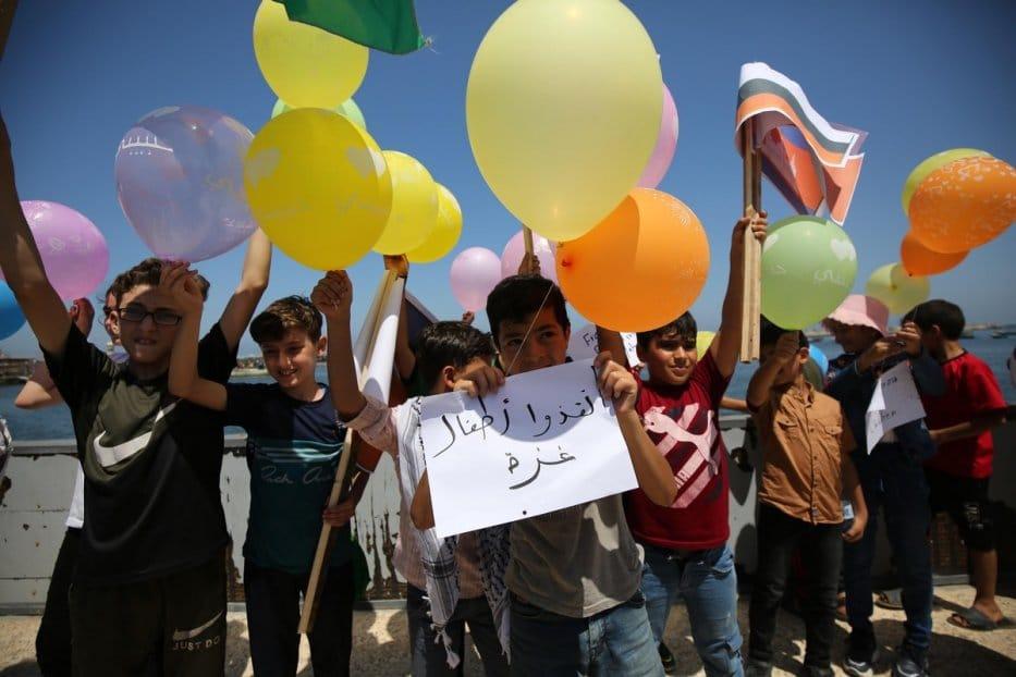 Les enfants de Gaza appellent le monde entier à les sauver