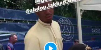 Les joueurs du PSG fêtent l'Aid al-Adha au Camp des Loges - VIDEOS