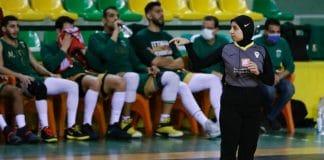 Sarah Gamal, première arbitre musulmane en hijab aux Jeux Olympiques