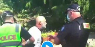 Covid-19 un homme fait une crise cardiaque après avoir été menotté par des policiers pour non-port du masque - VIDEO