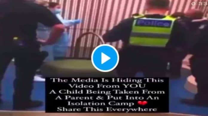 Covid-19 une enfant arrachée de force à son père pour se faire vacciner contre son gré - VIDEO