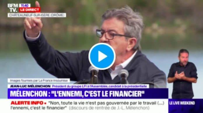 Jean-Luc Mélenchon «Zemmour ca veut dire 'olive' en arabe» - VIDEO (1)