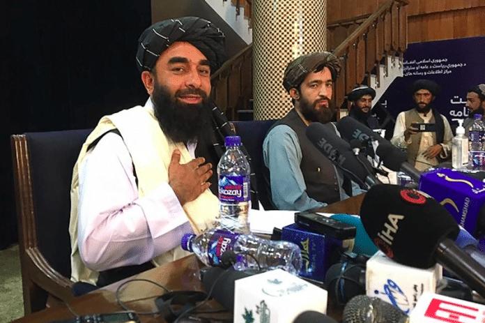 Les talibans affirment qu'ils respecteront les droits des femmes et la liberté de la presse