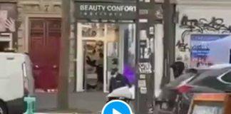 Paris des urgentistes sortent un cadavre d'un centre de vaccination - VIDEO (1)