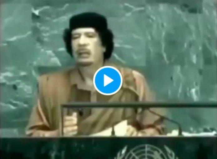 Quand Mouammar Khadafi prédisait la pandémie de Covid-19 et le pass sanitaire - VIDEO