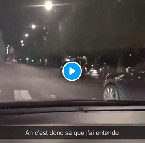 Stains des policiers en civils tirent à bout portant sur le conducteur d'un véhicule et sa passagère - VIDEO