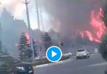 Turquie Plus de 100 incendies apocalyptiques encerclent le pays - VIDEO