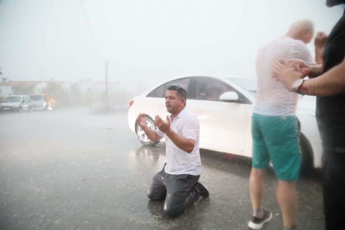 Turquie - une pluie salvatrice tombe après les incendies dévastateurs2