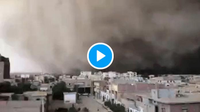 Une étrange et impressionnante tempête de sable s'abat dans le sud de l'Algérie - VIDEO