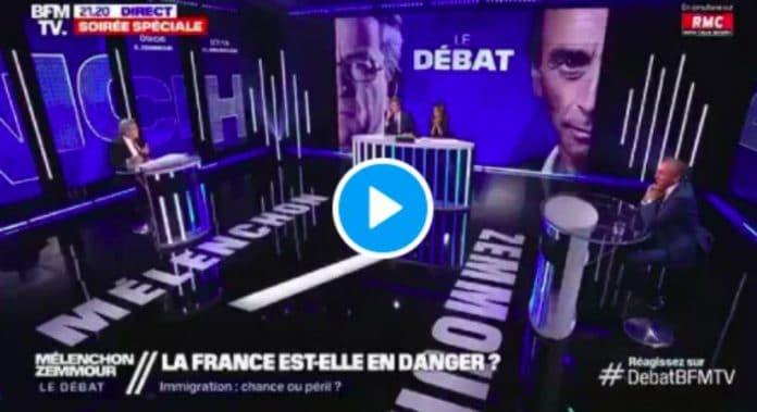« Vous ne chasserez pas les musulmans ! » Jean-Luc Mélenchon défend l'islam face à Eric Zemmour - VIDEO (1)