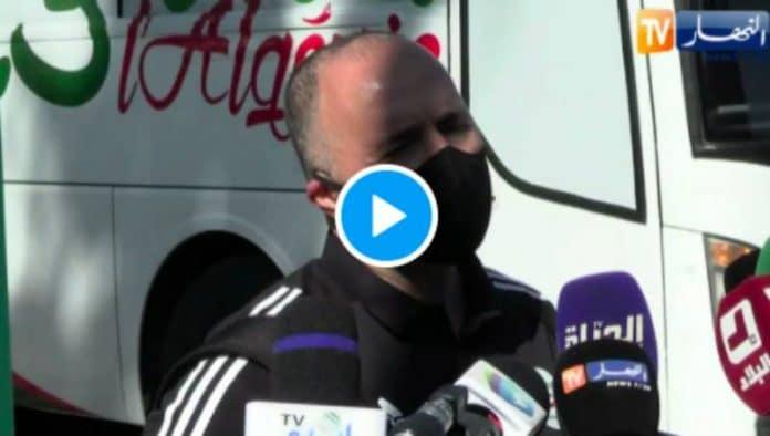 Belmadi «Il fait plus chaud à Marrakech qu'à Alger et ils arrivent à avoir une pelouse de qualité» - VIDEO
