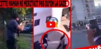 Corbeil-Essonnes les policiers gazent une mère voilée qui tentait de protéger son fils - VIDEO