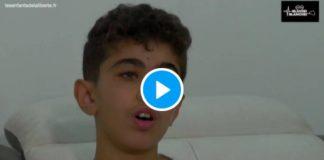 Covid-19 Yacine, 13 ans, devient aveugle après la vaccination - VIDEO (1)