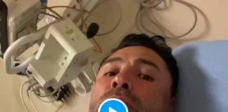 Covid-19 le boxeur Oscar De La Hoya hospitalisé après la vaccination - VIDEO (1)