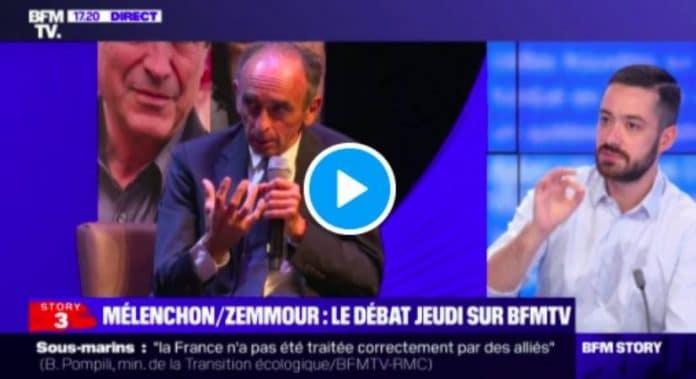 David Guiraud «Oui, Eric Zemmour est un raciste! » - VIDEO (1)