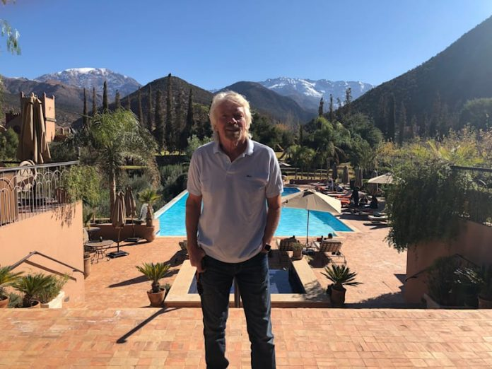 Groupe Virgin- le milliardaire Richard Branson choisit le Maroc