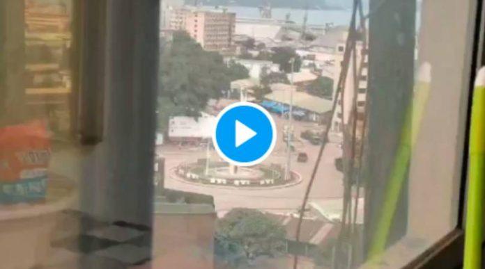 L'équipe du Maroc de football bloquée en Guinée en plein coup d'état - VIDEO (1)