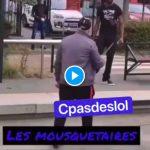 Nantes un homme armé de couteaux tente de poignarder un usager sur le quai de la gare - VIDEO (1)