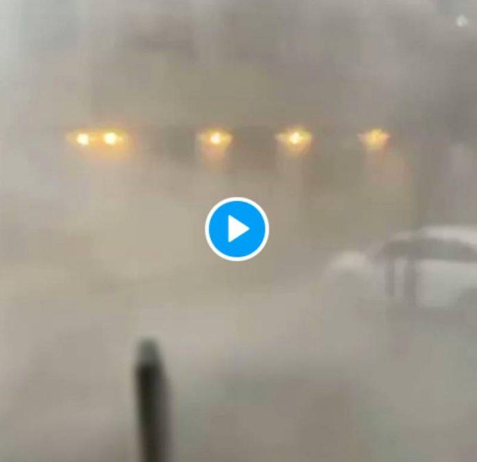 Un impressionnant orage frappe la ville de Nîmes - VIDEO (1)