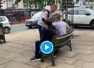 Un individu agresse un jeune homme sans savoir que c'était un champion de Jiu-Jitsu - VIDEO (1)