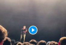 «Respecte les femmes !»Sosso Manes interrompt son concert pour aider une femme harcelée dans la fosse - VIDEO
