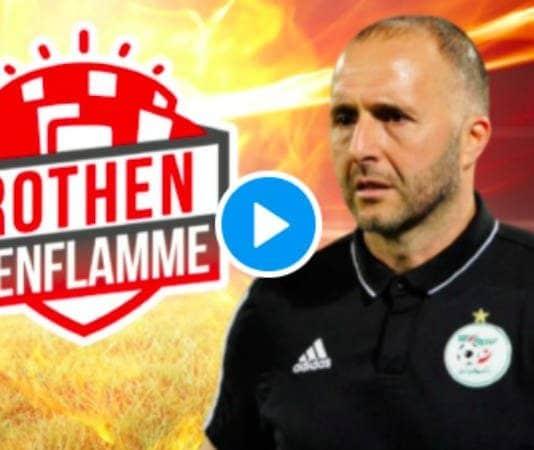«Monsieur revient comme une petite mariée !» Djamel Belmadi fracasse Andy Delort - VIDEO