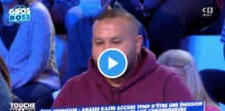 Il y a un basculement vers l'extrême droite de l'ensemble des médias de la télé Anasse Kazib recadre Cyril Hanouna - VIDEO