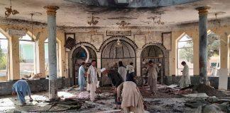 Afghanistan - des terroristes de Daech se font exploser dans une mosquée