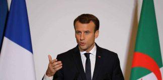 Emmanuel Macron appelle au calme avec l'Algérie