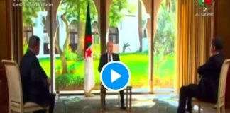 Incendies en Algérie le président Tebboune accuse le Maroc en direct - VIDEO