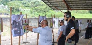Panama - les policiers tirent sur des cibles arabes lors d'une formation organisée par Israël