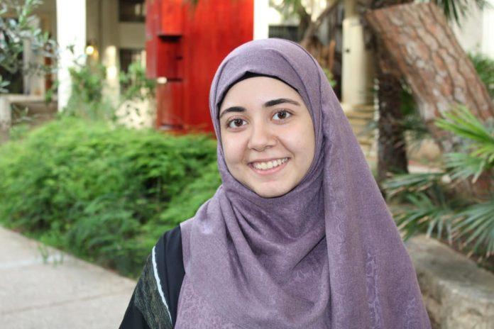 Une Palestinienne nommée étudiante le plus influente du monde